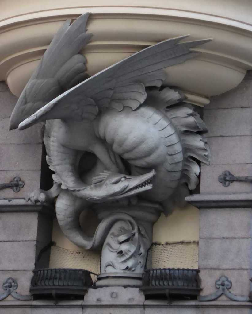 Dragon window