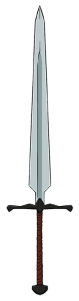 vertical sword